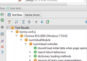 Running unit-tests and code coverage metrics in Intellij Idea.