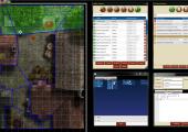 Gamemaster's screen panel