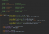 Faculty class constructor handles JSON object received from the client side.