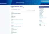 The search results page.