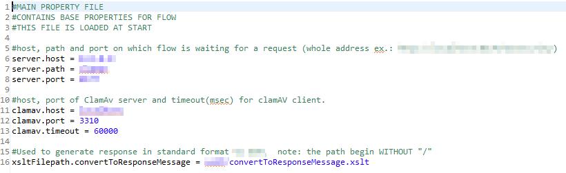 The configuration file