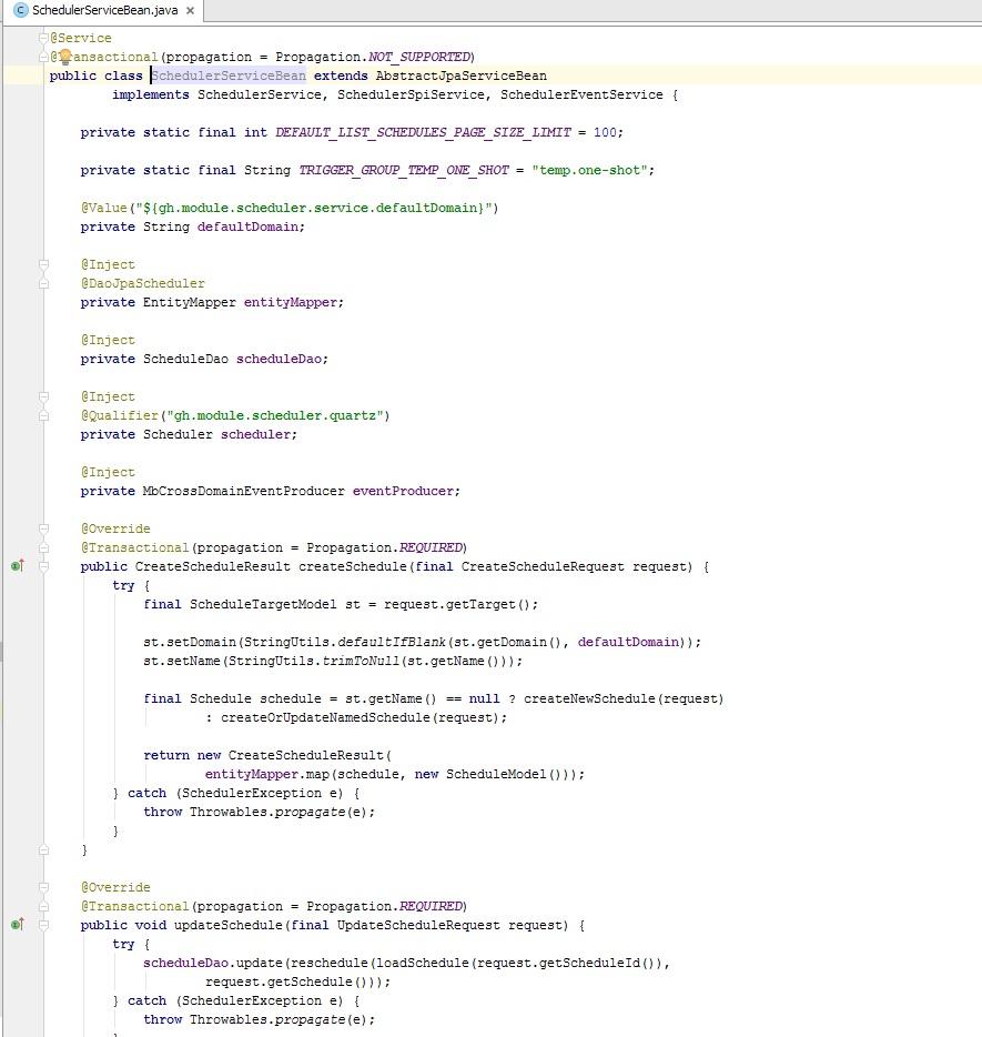 code-scheduler