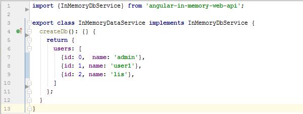Angular 2  Web API imitation | JazzTeam Software Development