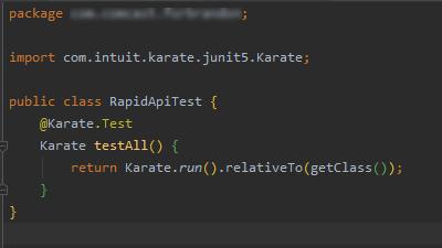 Test.java file